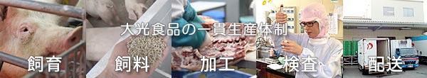 雲仙しまばら豚:一貫生産体制での高品質
